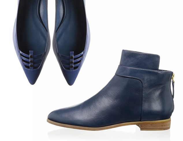 In the Navy: Shoes at MYHABIT