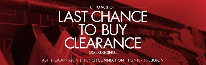Last Chance to Buy Clearance Rail at Brandalley