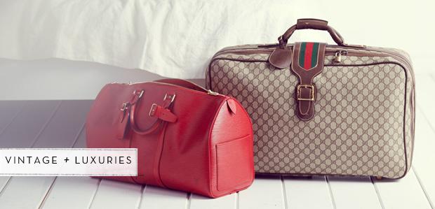 Luggage Featuring Gucci: First-Class Companions at Rue La La