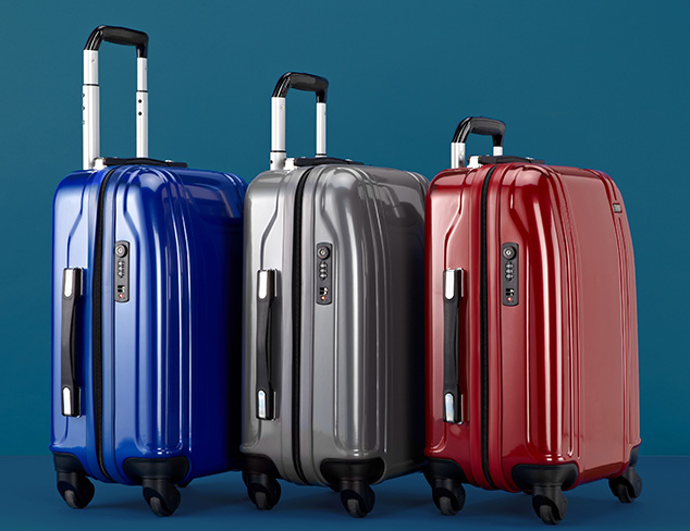 Luggage feat. Zero Halliburton at MYHABIT
