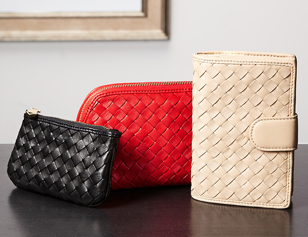 Luxe Leather Accessories at MYHABIT
