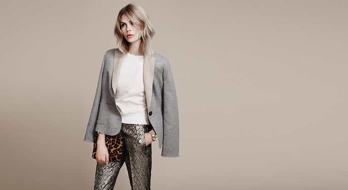 Luxe Textures Feat. Les Copains at Gilt