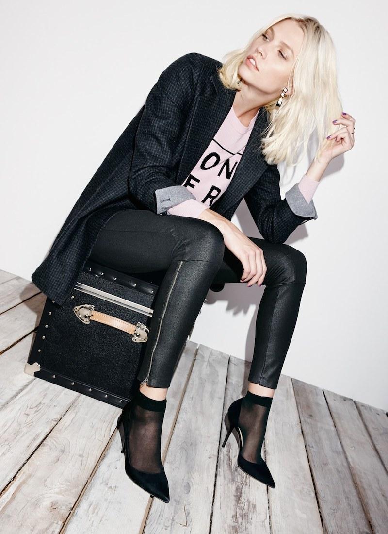 Lyssé Simone Coated Ponte Knit Control Top Leggings