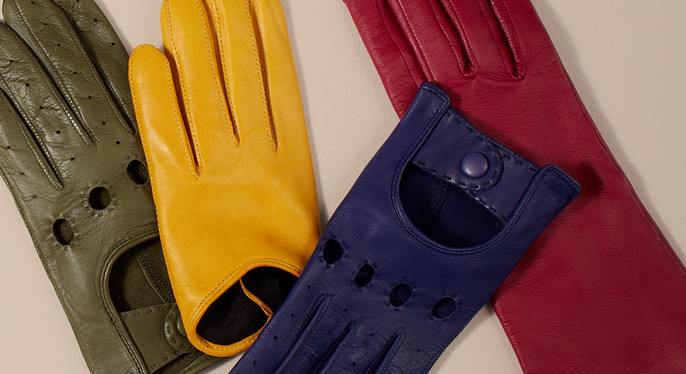Made in France: Leather Gloves by Maison Fabre at Gilt