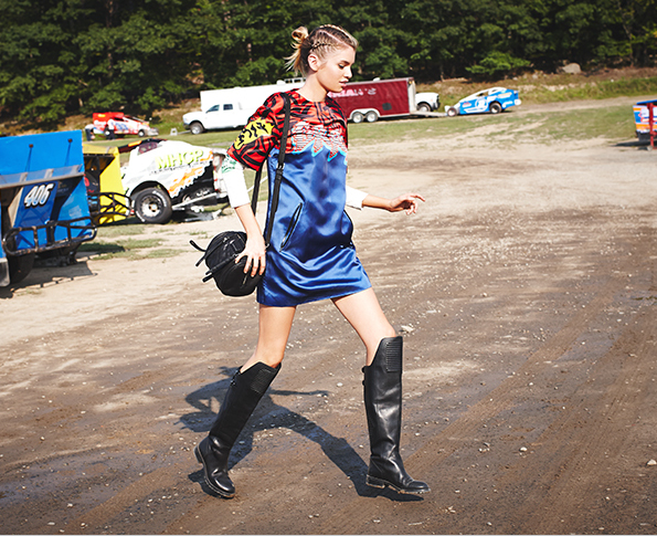 Marc by Marc Jacobs Rally Motocross Layering Tee