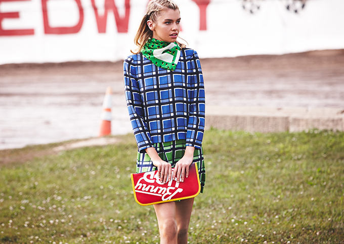 Marc by Marc Jacobs Toto Plaid Dress