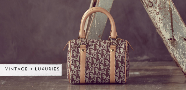 Mark of Luxury: Monogram Bags Featuring Dior at Rue La La