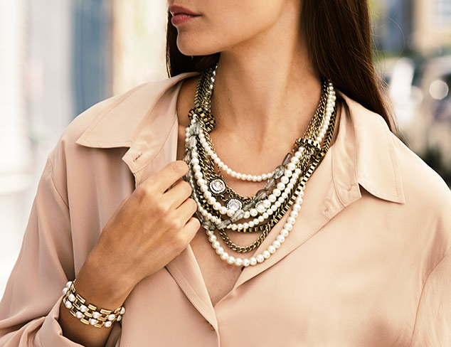 Modern Elegance: Pearl Jewelry at MYHABIT