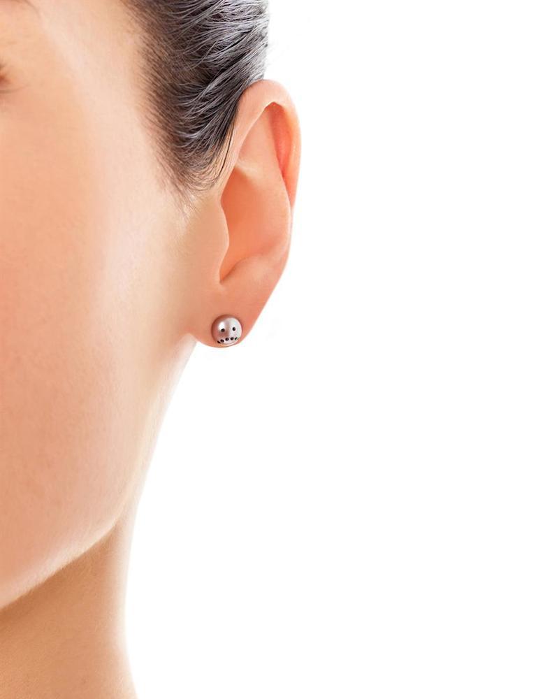 Nektar de Stagni Drama Pink-pearl Earrings