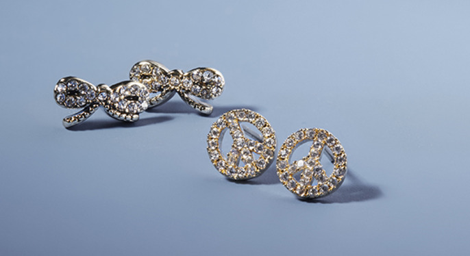 Novelty Stud Earrings at Gilt