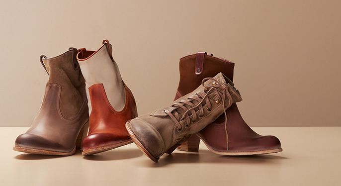Off-Duty Boots Feat. n.d.c made by hand at Gilt