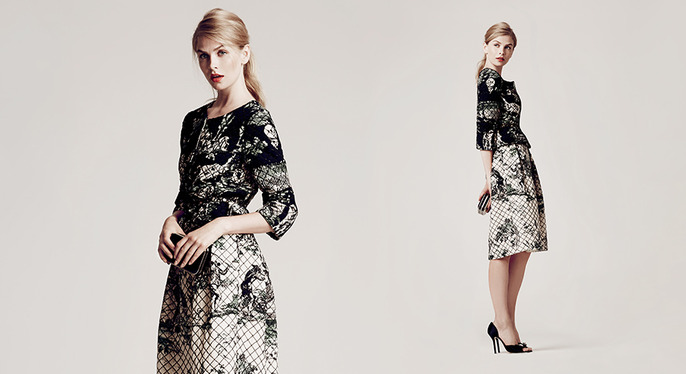Oscar de la Renta Apparel at Gilt