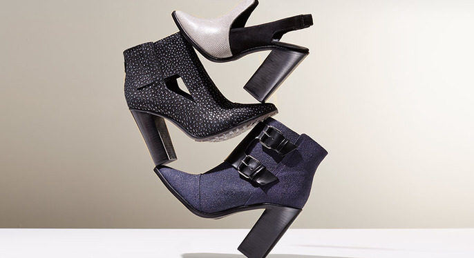 Perfect Fall Booties at Gilt