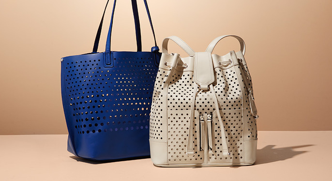 Perfectly Perforated Handbags at Gilt