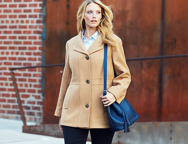 Plus Size: Fall Outerwear at MYHABIT