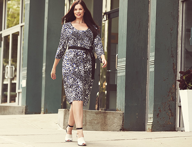 Plus Size: Printed Fall Dresses at MYHABIT