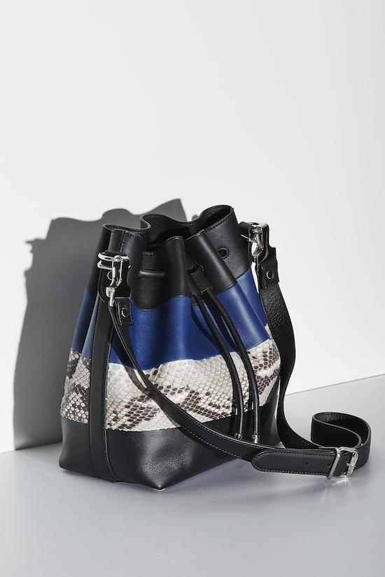 Proenza Schouler Patchwork Medium Bucket Bag