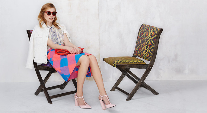 Quirky-Chic Style Feat. Orla Kiely at Gilt