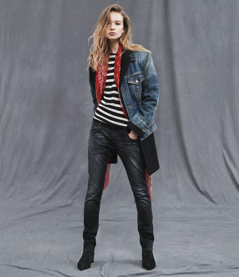 R13 Jeans Jacket & Coat Combo