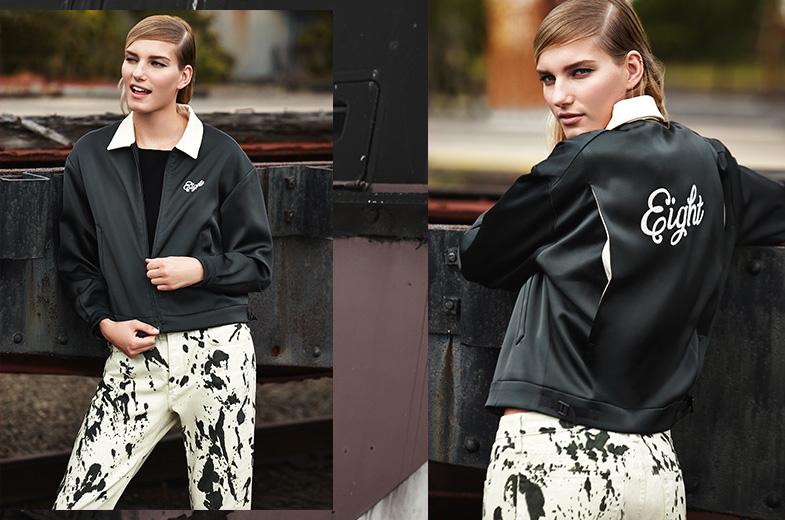 Rag & Bone Dean Monogrammed Jacket