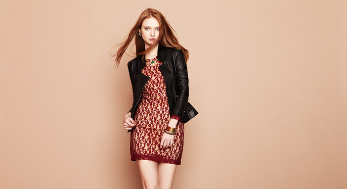 Rich Textures: Jacquard, Lace & More at Gilt