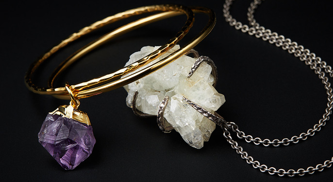 Rock Stars: Natural Stone Jewelry at Gilt