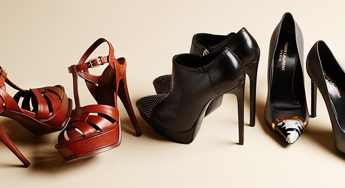 Saint Laurent Paris Shoes at Gilt
