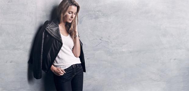 Skinnies & Moto Jackets Featuring Genetic Denim at Rue La La