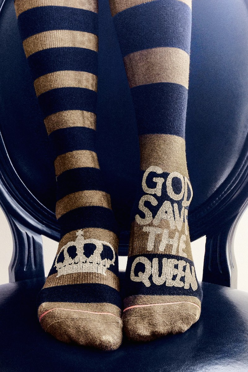 Stance Save the Queen Boot Socks