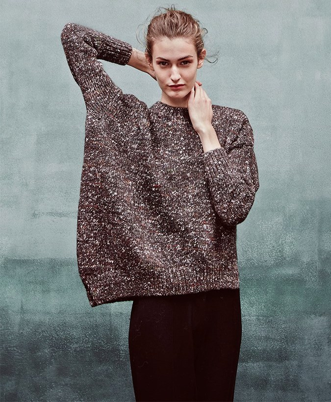 Stella McCartney Asymmetric Wool-blend Sweater
