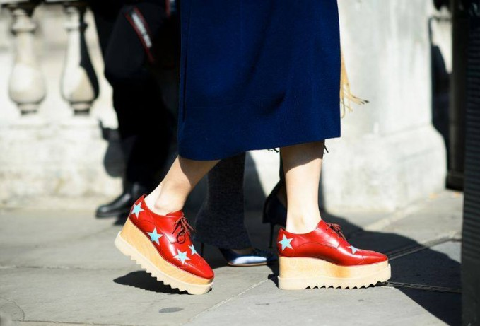 Stella McCartney Elyse Stars Alter Nappa Oxford-style Shoes