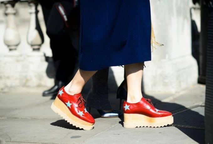 Stella McCartney Elyse Stars Alter Nappa Oxford-style Shoes