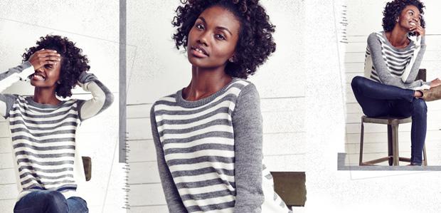 Sweaters That Pop: Colorblocking, Stripes, & More at Rue La La