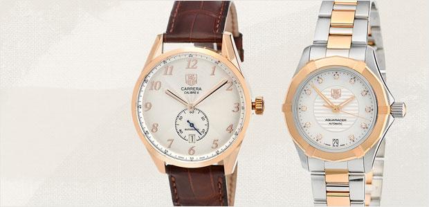 TAG Heuer Women's & Men's Watches at Rue La La