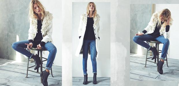 Textured Wool Coats: Add a Little Edge at Rue La La