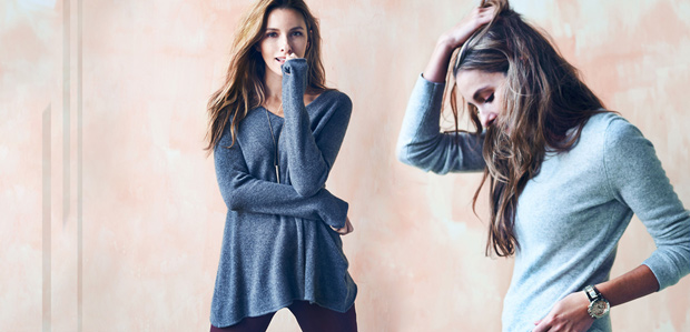 The Cashmere Sweater: A Closet Must at Rue La La