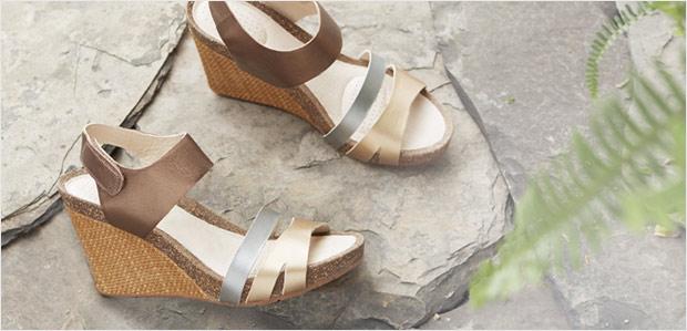 The Final-Few Sale. Limited sandals. Rush in. at Rue La La
