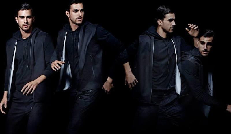 Theory Tech-Fabric Hoody Vest