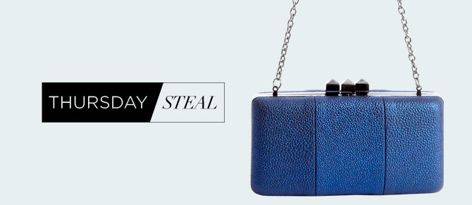 Thursday Steal $39 Clutches at Belle & Clive