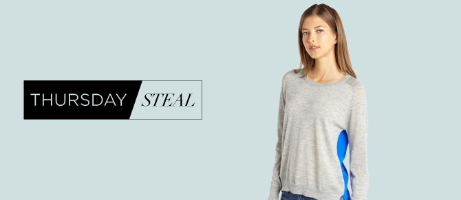 Thursday Steal: $99 Cashmere Sweaters at Belle & Clive