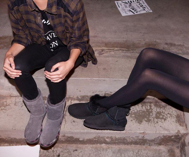 UGG Classic Short Rock Grunge Boots
