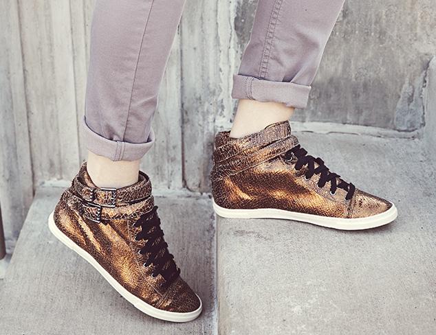Unique Sneakers: Metallics, Prints & More at MYHABIT