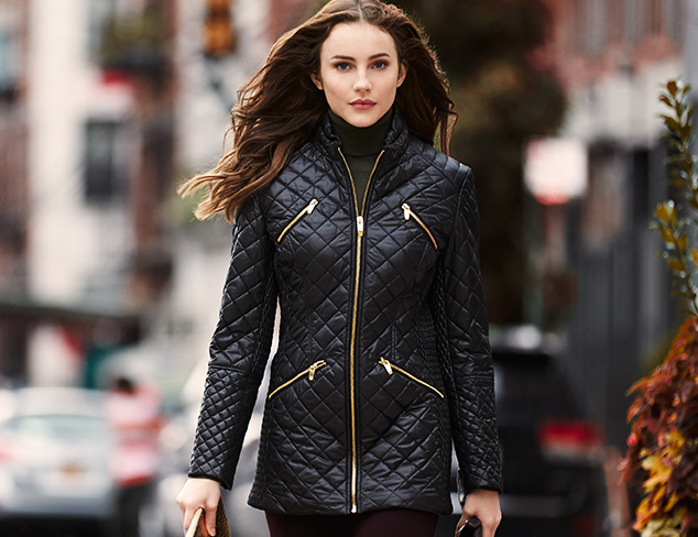 Buy Michael Kors Ladies Quilted Jacket Off61 Discounted