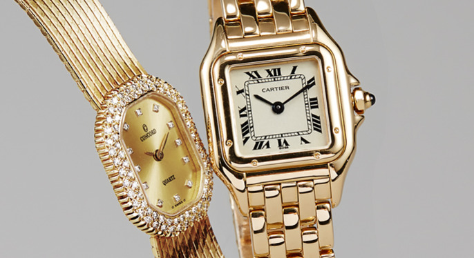 Vintage Watches Feat. Cartier at Gilt