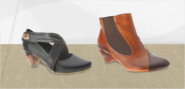 Walk in Comfort: Cushioned Shoes & Boots at Rue La La