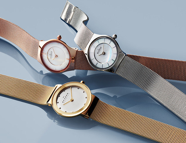 Watches feat. Skagen at MYHABIT