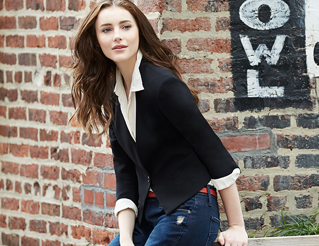 Wear Together: Blazers & Distressed Jeans at MYHABIT