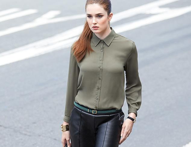 Wear to Work: Blouses & Blazers at MYHABIT