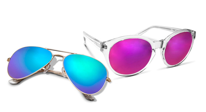 We're Obsessed: Mirrored Sunglasses at Gilt