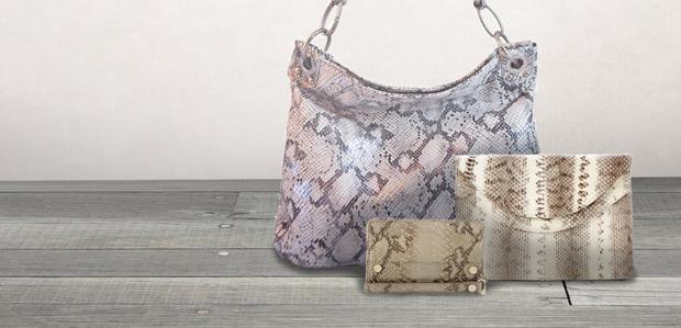 Wild Things: Embossed-Snakeskin Handbags & More at Rue La La